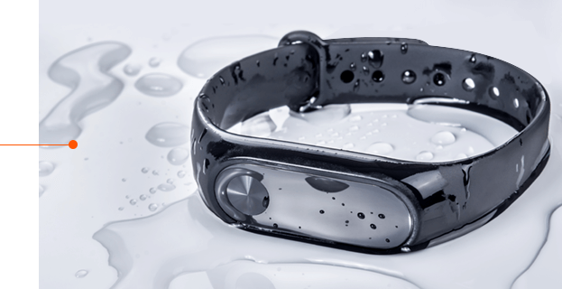 Fitness-trackers-with-enduring materials